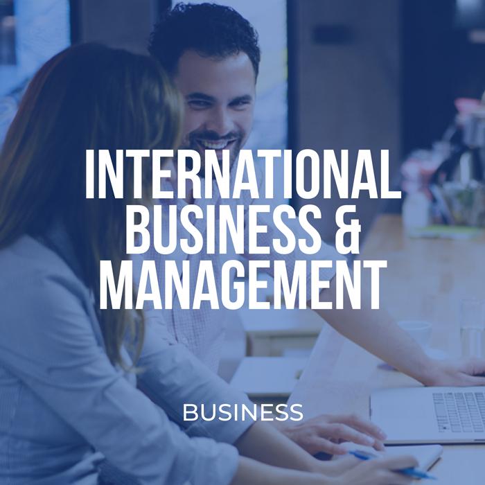 International Business & Management