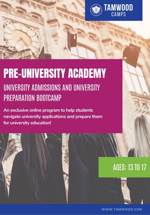 Pre-University Brochure