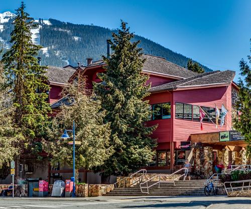 Whistler Campus Exterior