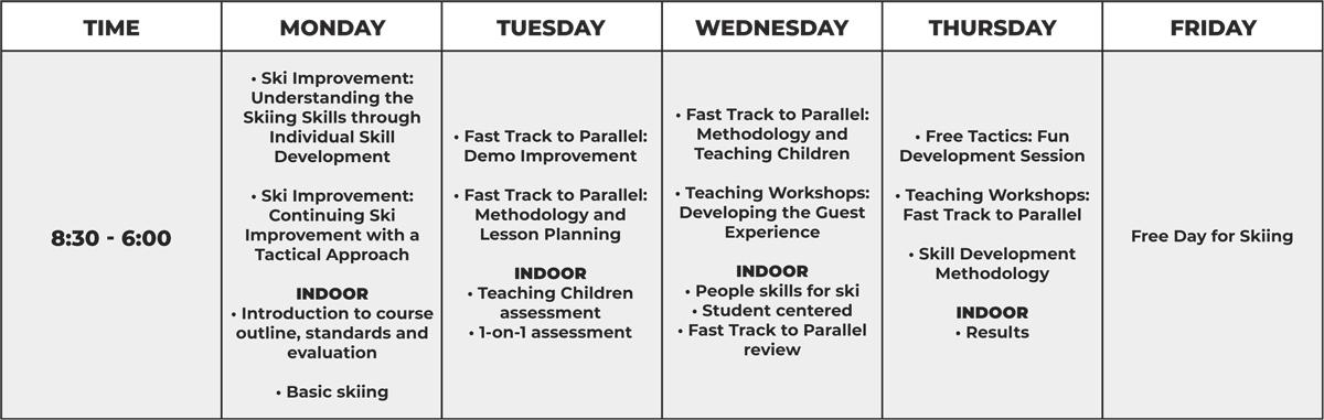 Instructor Week 3